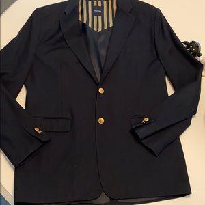 Boys Nautica navy blue blazer size 20 regular